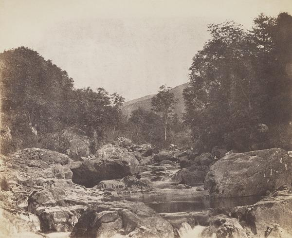 River bed (About 1850)