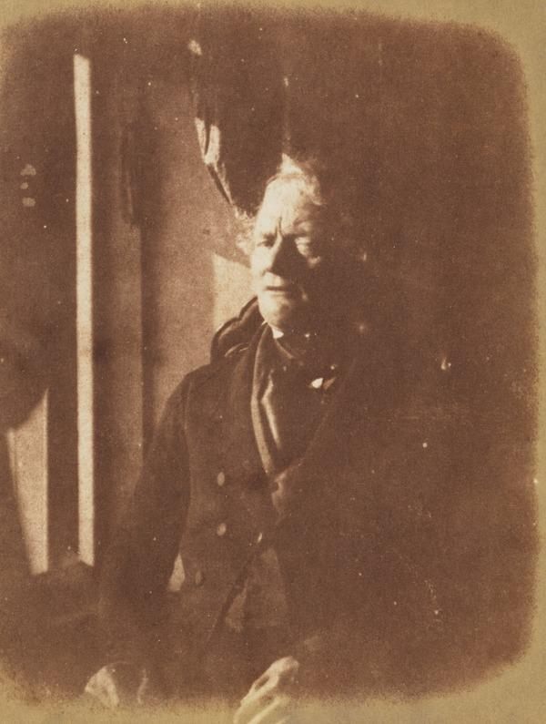 Unknown man, photographed indoors by a window