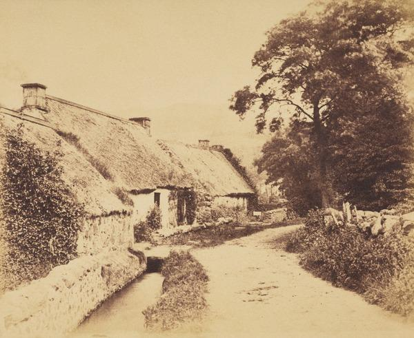 Lane with cottages