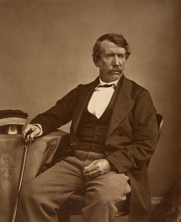 David Livingstone, 1813 - 1873. Missionary and explorer (1864)