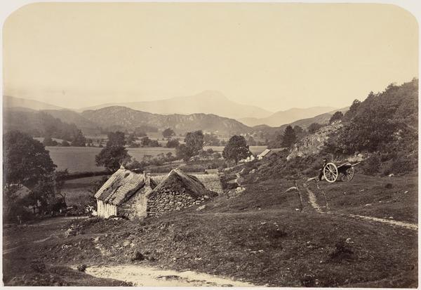 'Ben Lomond from Aberfoyle' (About 1860)