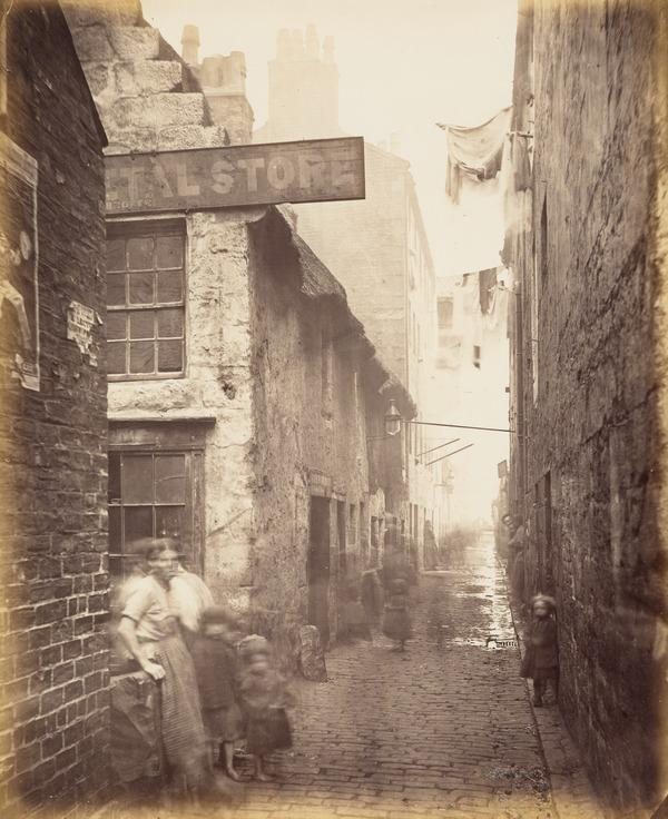 Old Vennel off High Street (1868 - 1871)