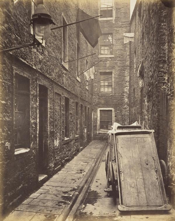 Close, No. 136 Saltmarket (1868 - 1871)