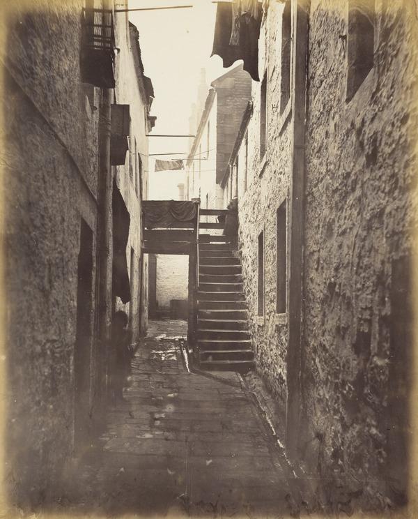 Close, No. 128 Saltmarket (1868 - 1871)