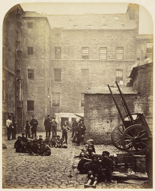 Close, No. 46 Saltmarket, from Old Closes and Streets of Glasgow (1868 - 1871)