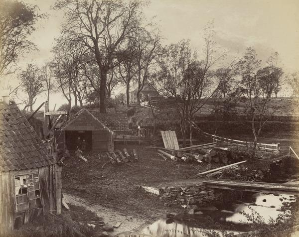 Landscape with Wood Yard (About 1880)