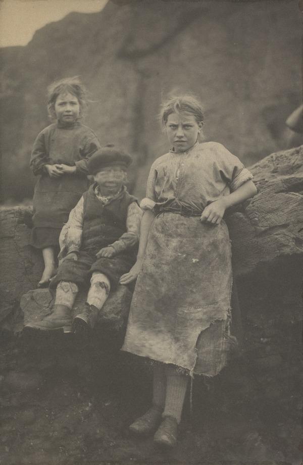 At Auchmithie (1881)