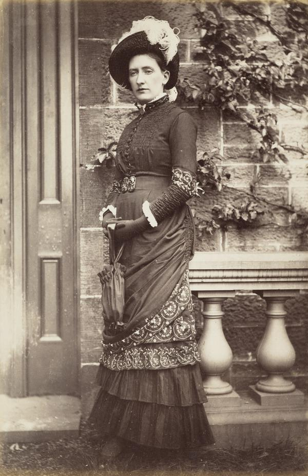 'Maud Thomson, Invertrossachs 1881', presumably Jessie (Cox) Thomson's sister-in-law (1881)