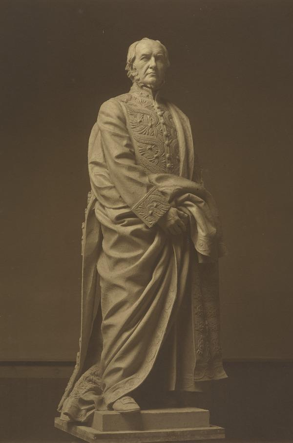 Classical Statue of Unknown Male