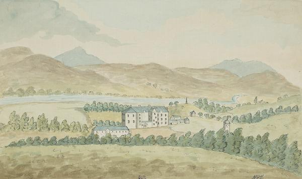 Blair Castle, Blair Atholl, Perthshire (Dated Sept 5, 1786)