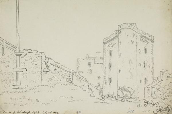 Blackness Castle, West Lothian (Dated 1782)