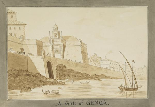 A Gate at Genoa (Estimated earliest year: 1781)