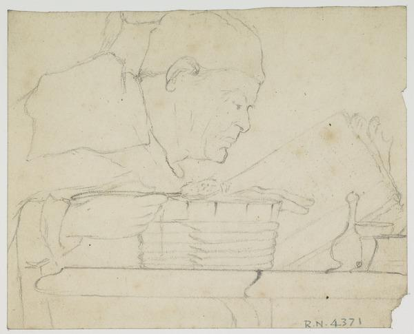Study for the Painting 'Bailie Duncan McWheeble at Breakfast'