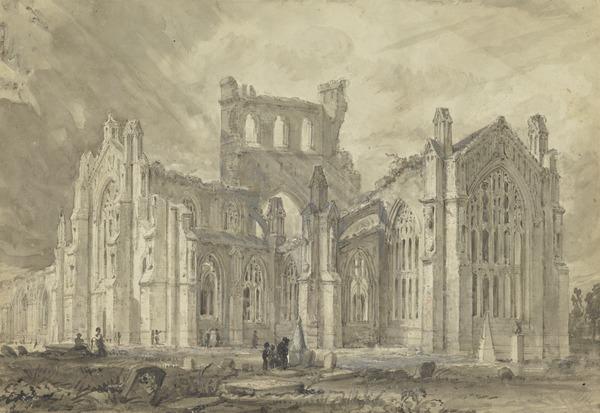 Melrose Abbey, Roxburghshire