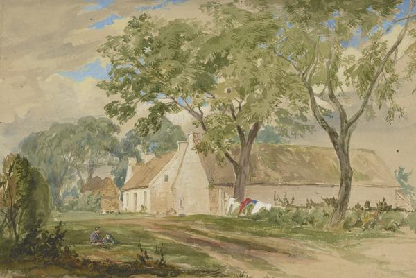 Mossgiel, Ayrshire (1855)