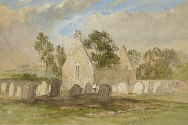 Alloway Kirk, Ayrshire (1855)