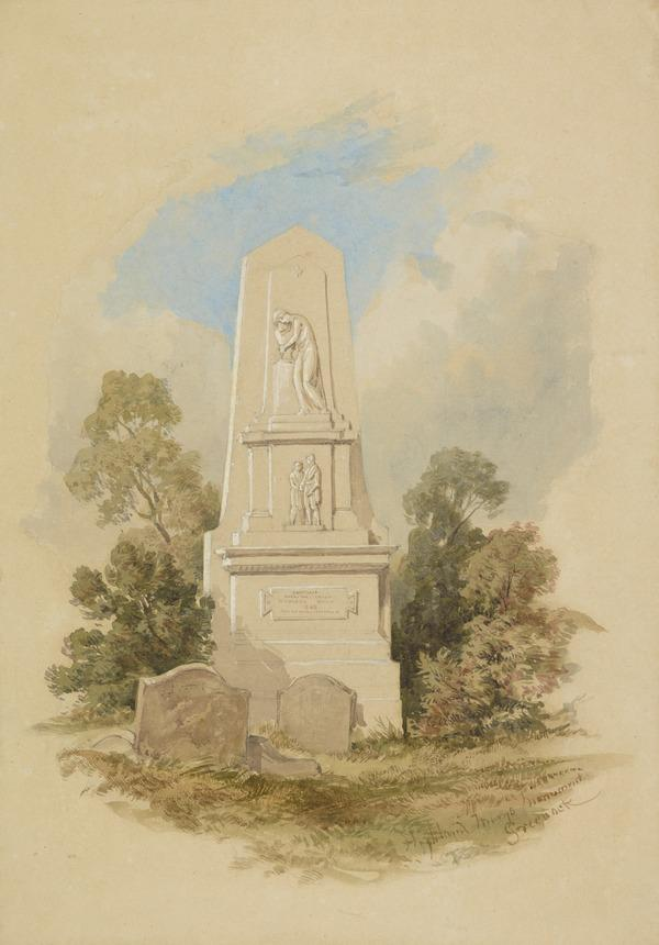 Highland Mary's Monument, Greenock, Renfrewshire