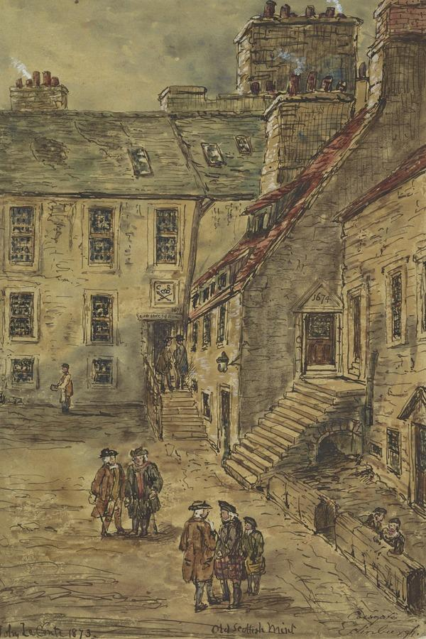 The Old Scottish Mint, Cowgate, Edinburgh