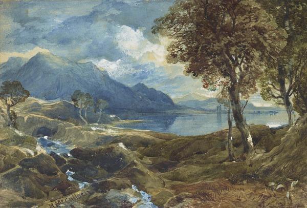 Landscape near Glencoe, Argyllshire