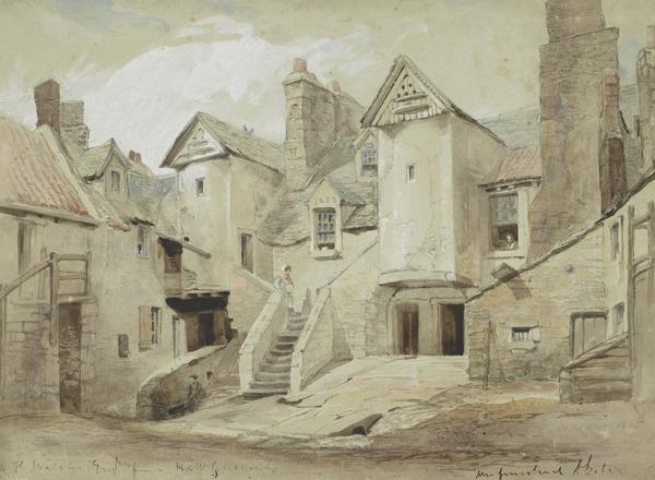White Horse Close, Edinburgh 1845 (1845)