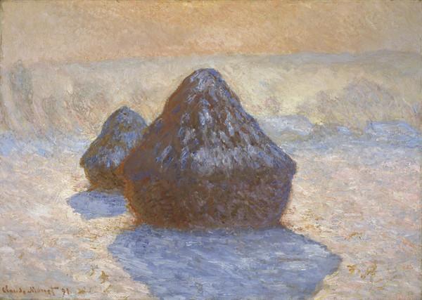 Haystacks: Snow Effect (1891)