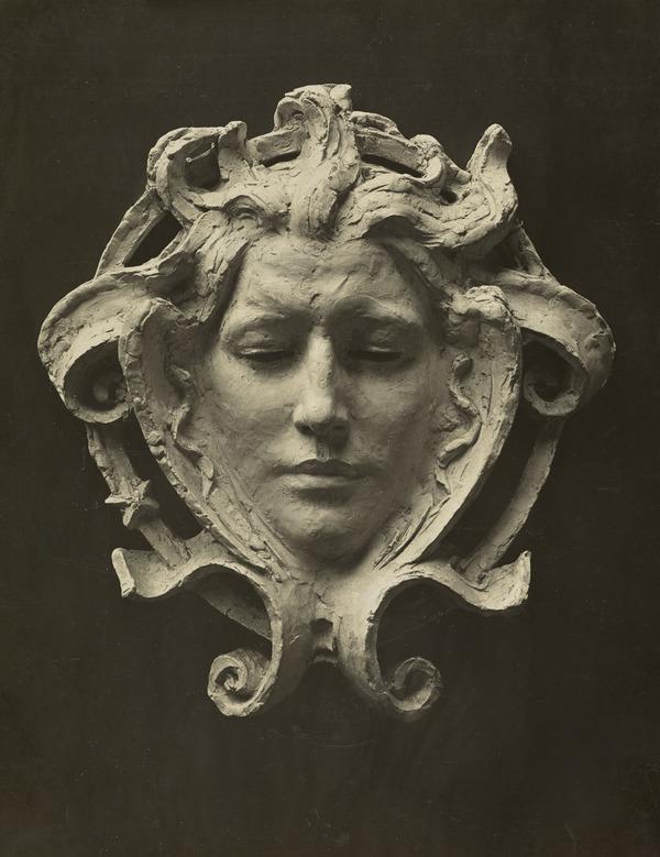 Ornate Head of a Woman