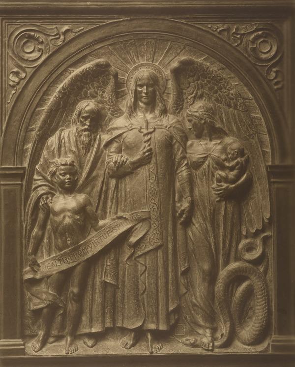 Sculpture of a Biblical Scene