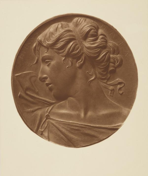 Relief of a Classical Woman's Head