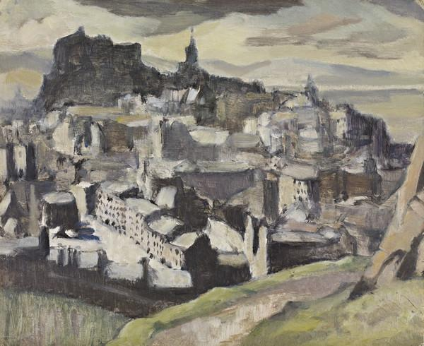 Study for 'Edinburgh (from Salisbury Crags)' (About 1927)