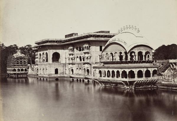 'Deeg, in the Bhurtpore Territory. The Garden-Palace' (1858 - 1865)