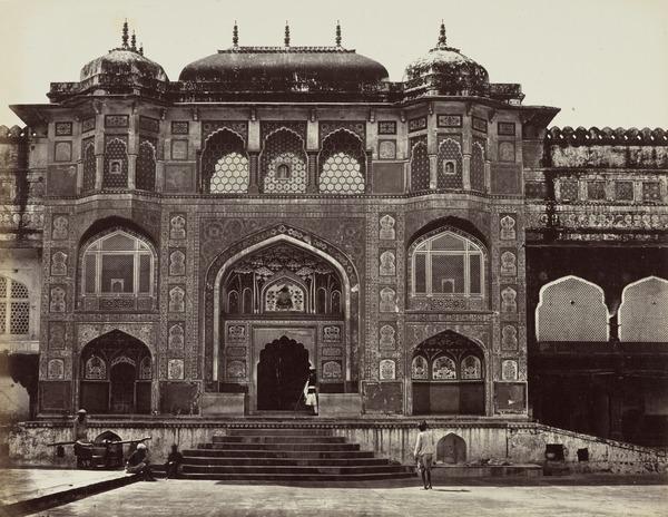 'Amber. Gateway of the Palace' (1858 - 1865)
