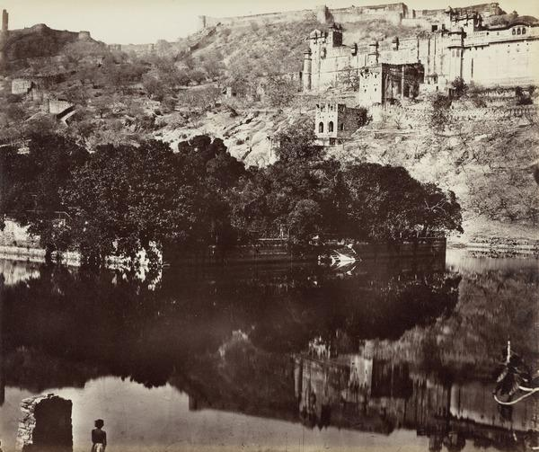 'Amber. Part of the Palace and Citadel' (1858 - 1865)