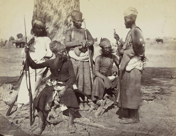 'Hara Rajpoots' (1858 - 1865)