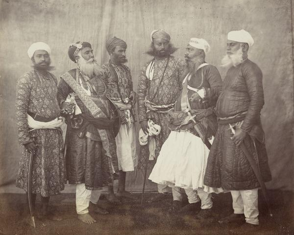 'Meeting of Rajpoots of rank' (1858 - 1865)
