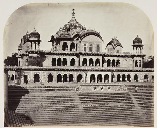 'Govurdhun. Cenotaph of Raja Bulder Singh' (1858 - 1865)