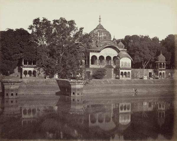 'Govurdhun. Cenotaph of Raja Sooruj Mull' (1858 - 1865)
