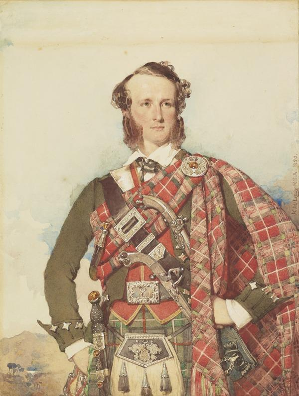 William Ord Mackenzie IVth of Culbo, 1815 - 1898. Deputy Inspector General of Army Hospitals (Dated 1850)
