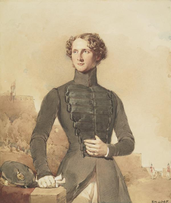 Thomas Allan Mackenzie, 1818 - 1855. Captain of the 3rd Bombay Light Cavalry (Dated 1837)