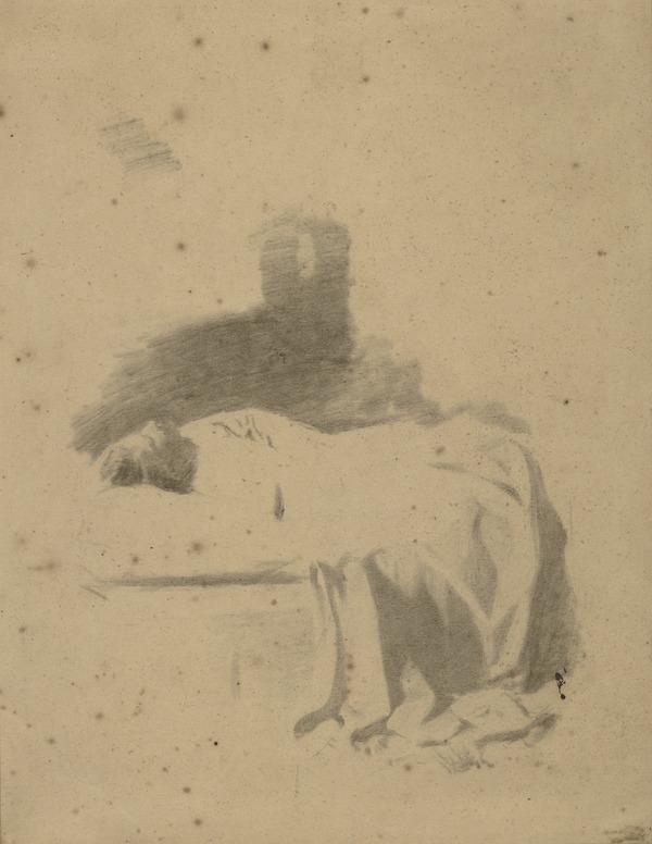 A Woman Asleep (About 1857)
