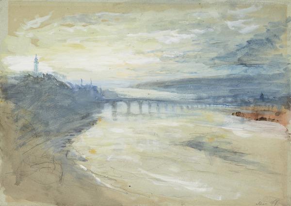 Dawn, Berwick-on-Tweed, Northumberland-