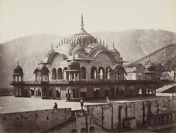 'Ulwur. The Cenotaph of Rao Raja Bukhtawur Singh' (Early 1860s)