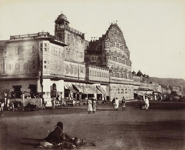 'Jeypoor. The Hawa Mahal, or Palace of the Winds' (1858 - 1865)
