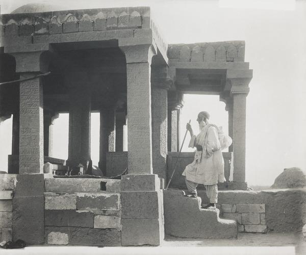 Pilgrim at a Muslim Temple (About 1890)