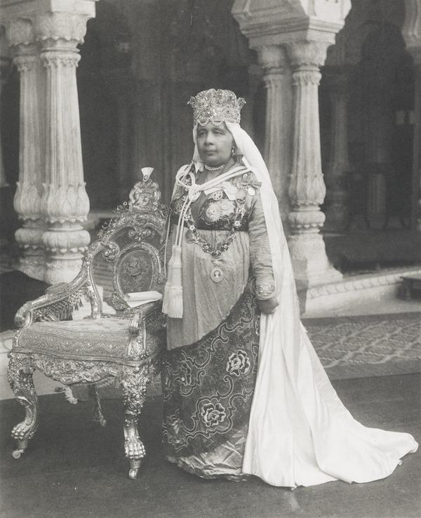 Nawab Sultan Kaikhusrau Jahan, Begum of Bhopal (1858-1930) (About 1920)