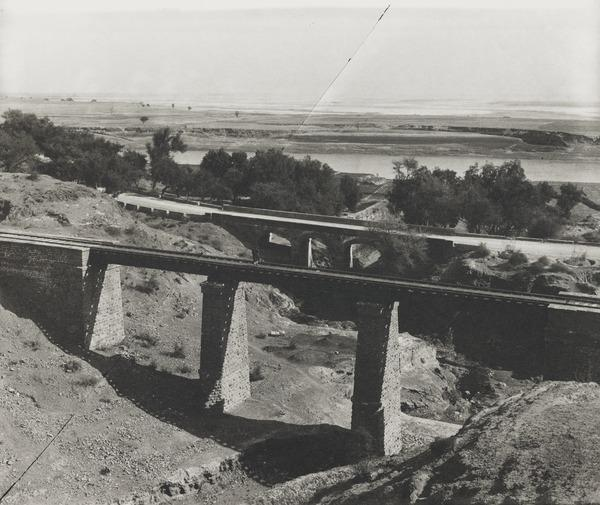 Railway bridge, possibly Baluchistan (About 1900)