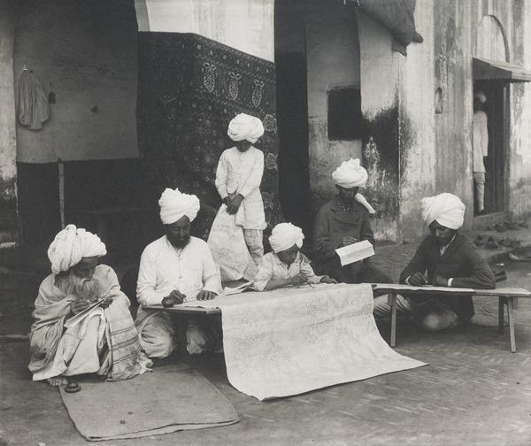 Carpet Designers (About 1896)