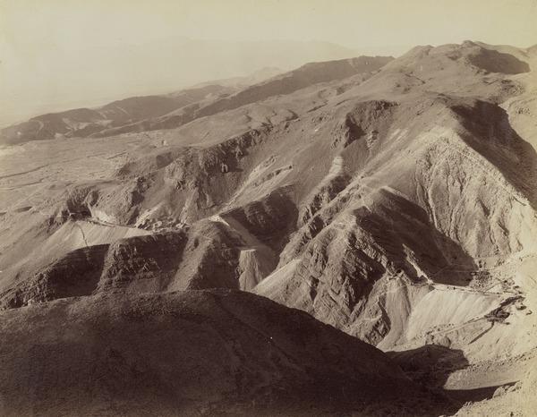 Chappar Rift, Khalifat Mountain, Baluchistan (About 1889)