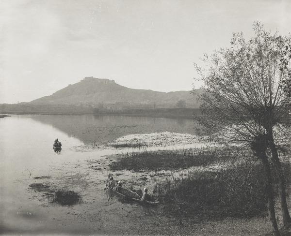Dal River, Kashmir (About 1896)