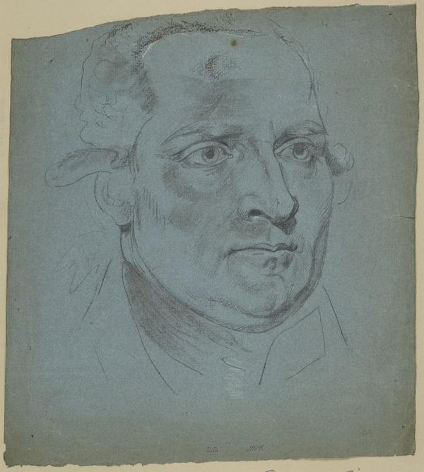 The Head of a Man, Facing Three-Quarters Right