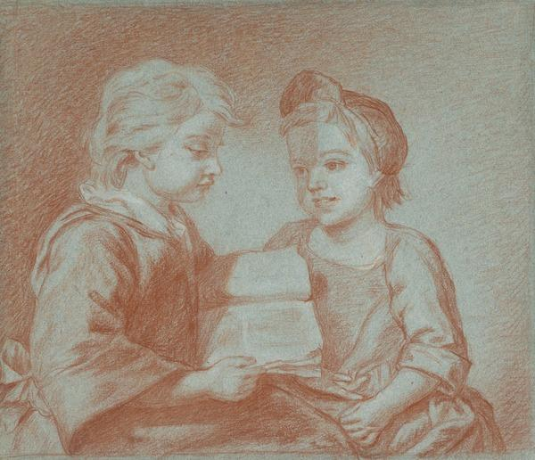 Study for Painting of Medina's Children